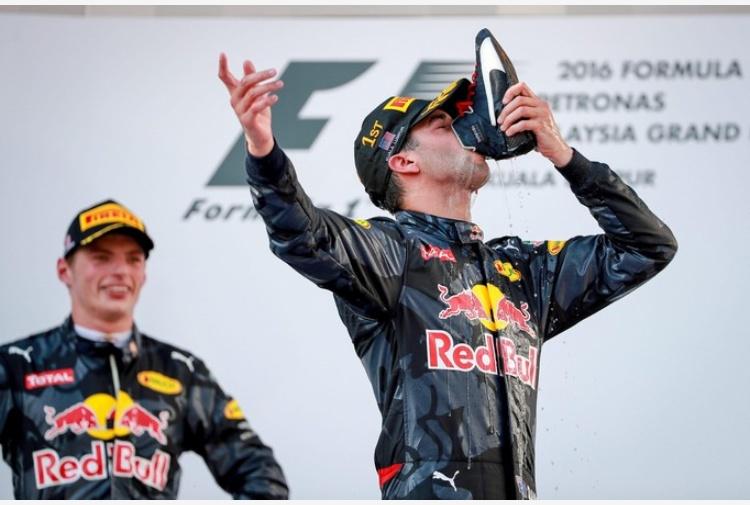 Ricciardo GP Sepang pagelle
