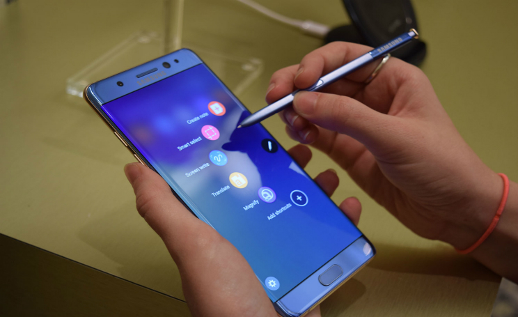 samsung galaxy note 7 esplosione batteria GTA V