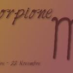 oroscopo scorpione novembre 2016