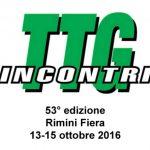 TTG Rimini 2016 date e programma