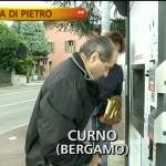 Striscia la notizia tapiro ad Antonio Di Pietro