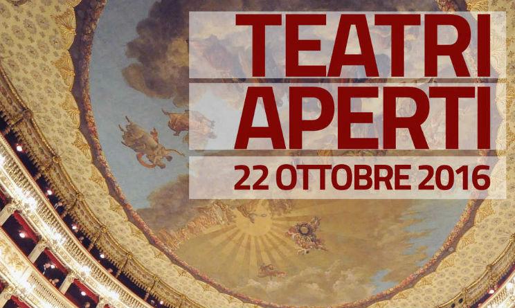 Teatri Aperti Gratis Milano Roma