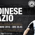 Dove vedere Udinese Lazio