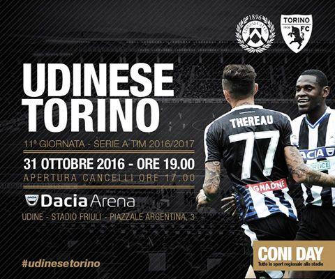 Calcio Serie A: nel posticipo Udinese-Torino 2-2