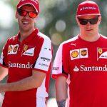 Vettel Raikkonen GP Monaco Formula 1