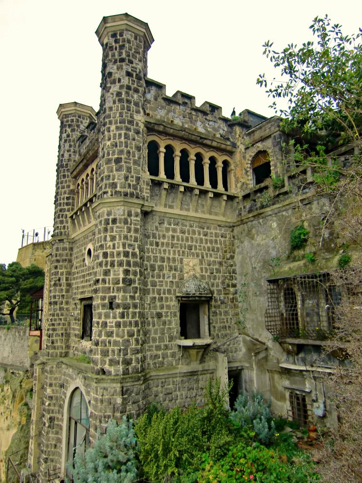 Villa Ebe - Torre quadrata