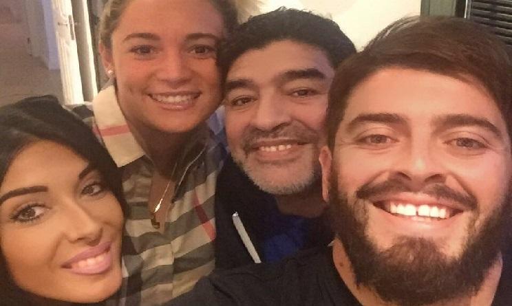 Maradona arrivato a Roma, sarà alla Partita della Pace