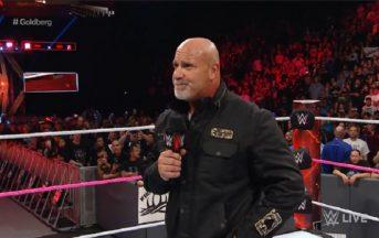 WWE Hall of Fame 2018, Goldberg il primo nome annunciato