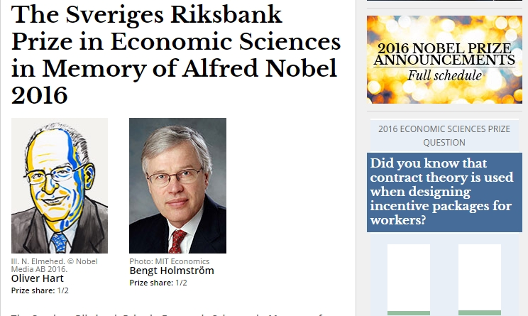 Premio Nobel per l'Economia