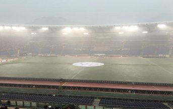 Serie A, allerta meteo: le gare a rischio dell'8a giornata