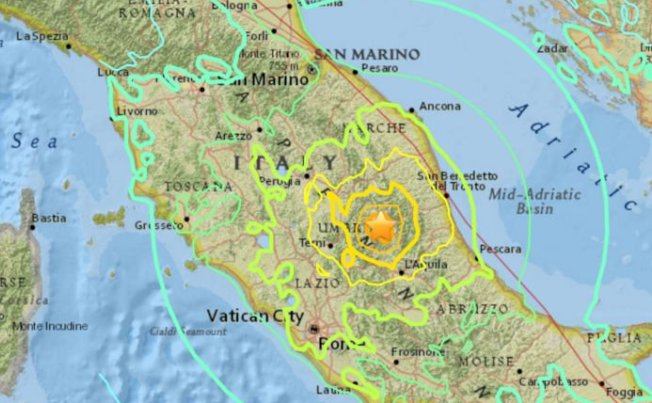 Ingv: il terremoto più violento degli ultimi decenni in Italia
