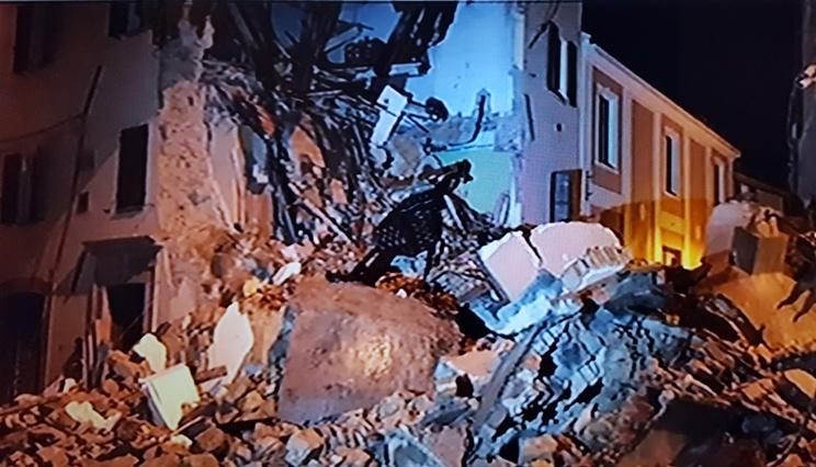 sfollati terremoto in centro italia
