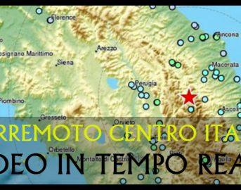 TERREMOTO CENTRO ITALIA/ Video in tempo reale