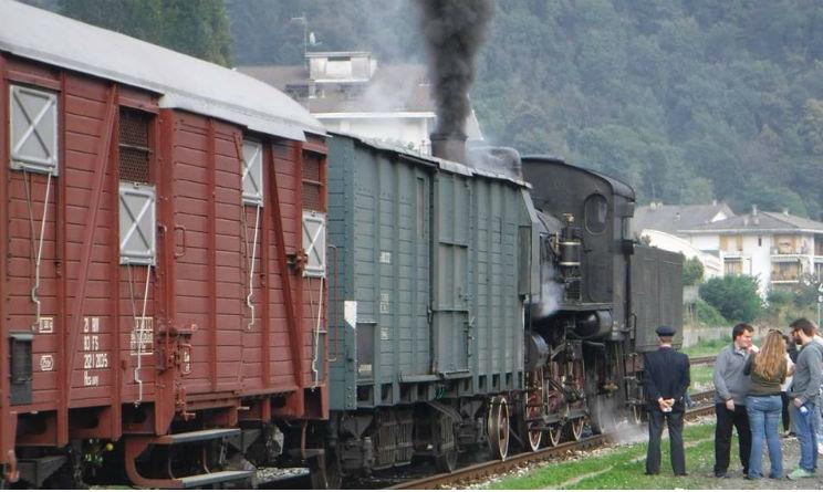 Treno storico Milano-Trento per mercatini Natale 2016