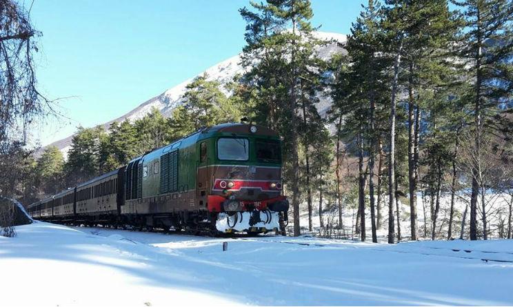 Ai mercatini di Natale di Roccaraso con il treno storico