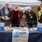 Zuppa della bontà in tante città italiane contro la povertà 2016