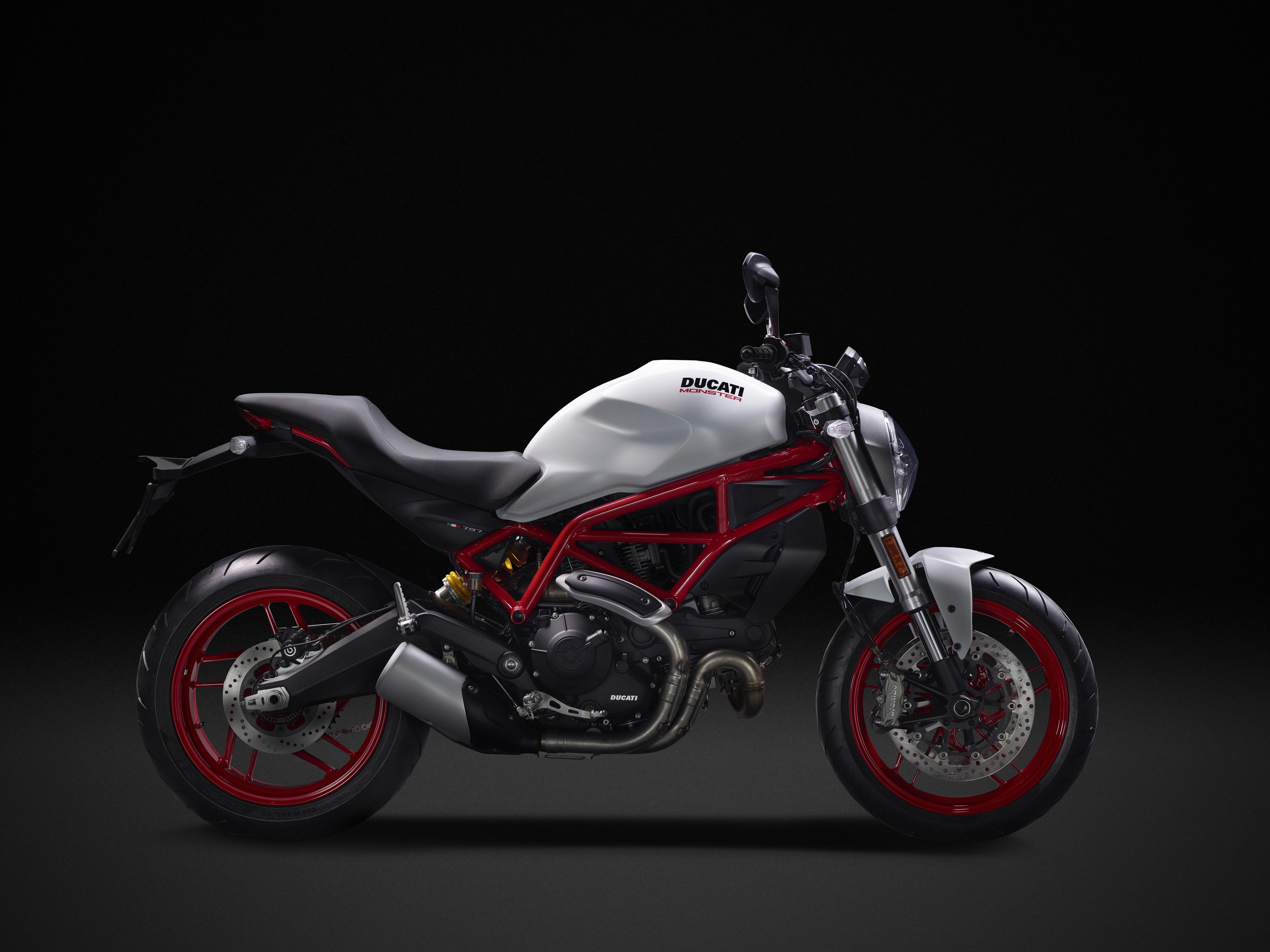 Ducati Monster 797 nuovi modelli 2017