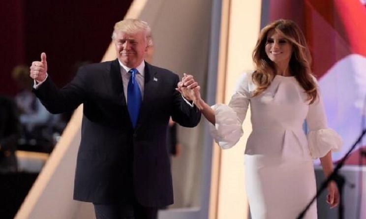 Melania Trump copertina Vanity Fair Messico