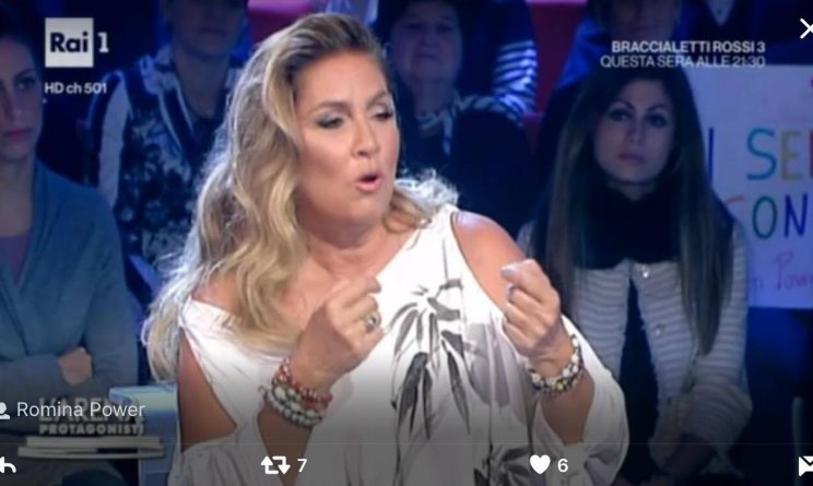 Romina Power confessa: