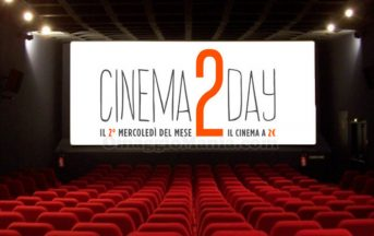 Film in uscita gennaio 2017: Cinema2Day, ecco cosa vedere al cinema con 2 euro