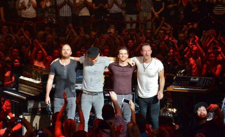 Coldplay: nel 2017 arriverà l'EP