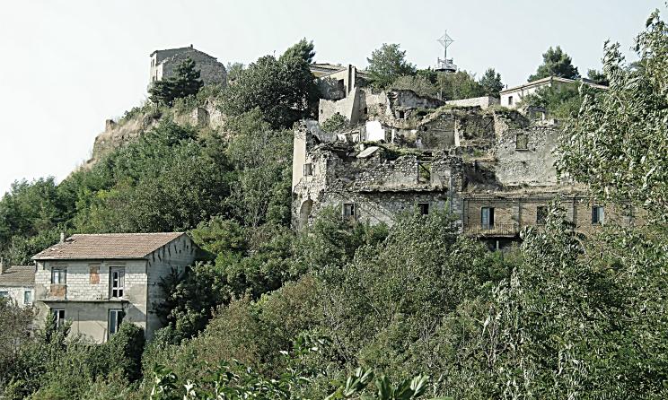 Conza della Campania Paesi Fantasma