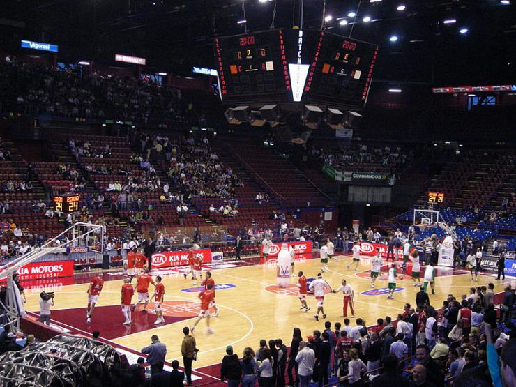 Diretta Olimpia Milano-Sassari dove vedere tv streaming