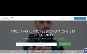 Startup Italia, ProntoPro.it: il marketplace per cercare professionisti [Intervista]