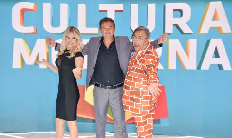Cultura Moderna Teo Mammuccari e il cast