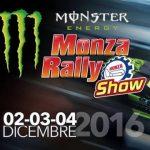 Monza Rally Show 2016 prezzo biglietti programma