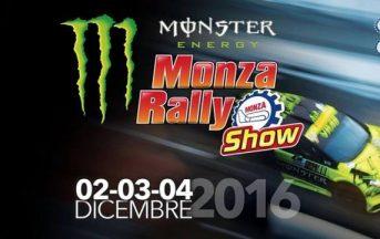 Monza Rally Show 2016 prezzo biglietti, date e orari, programma completo