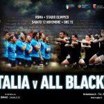 Italia-All Blacks prezzo biglietti diretta tv