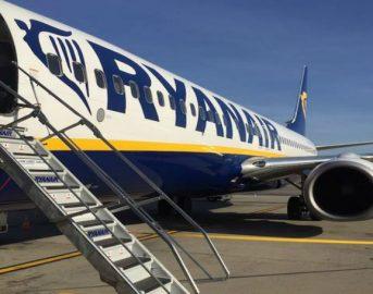 Lista voli cancellati Ryanair da e per l'Italia domani, mercoledì 20 settembre