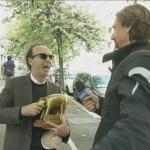 Striscia la Notizia Tapiro a Roberto Benigni