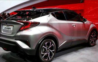 Toyota C-HR prezzo, caratteristiche, scheda tecnica e data di uscita
