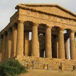 Treno storico nella Valle dei Templi Sicilia
