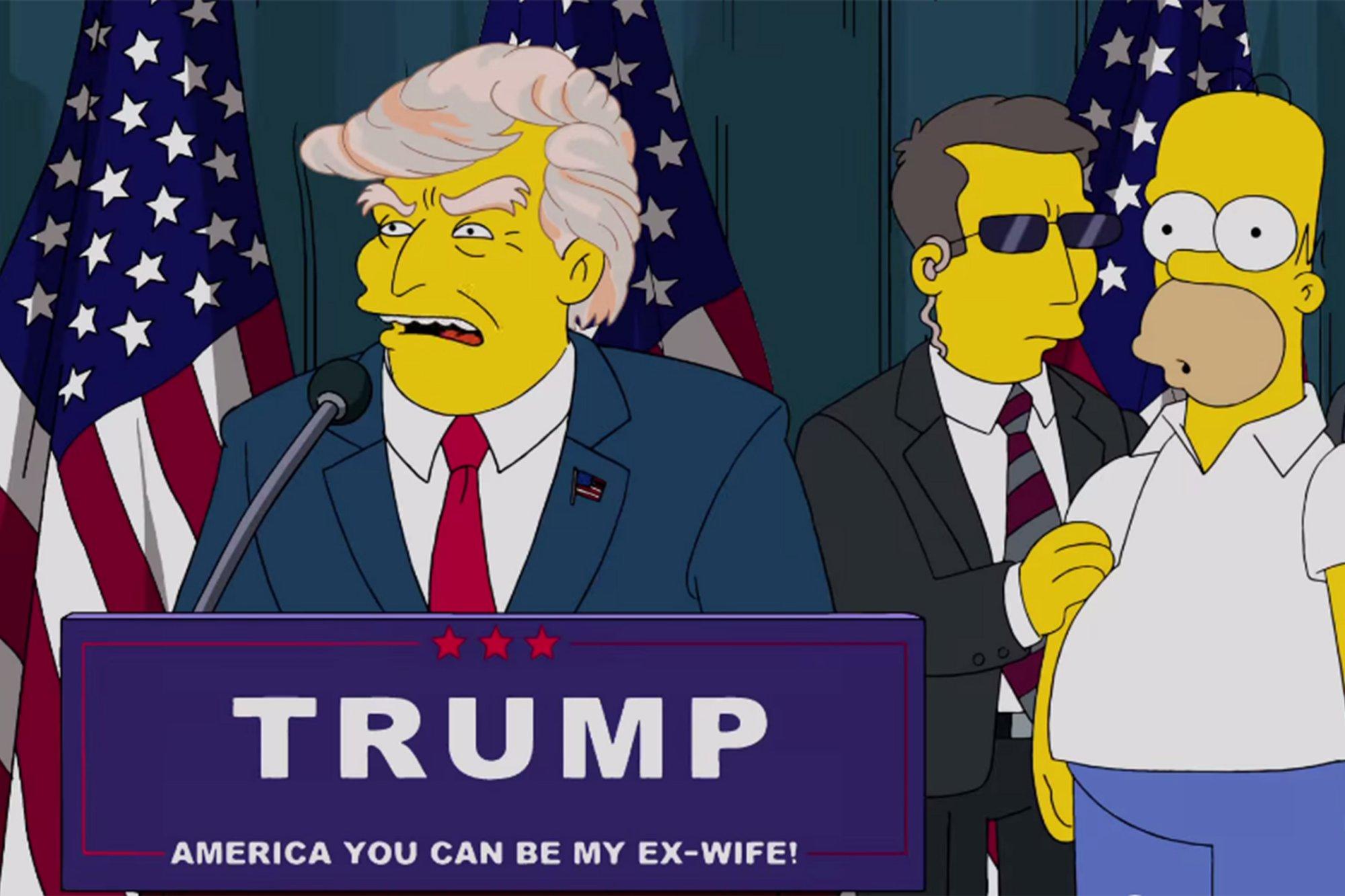 I Simpson avevano previsto tutto