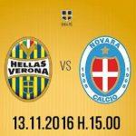 Dove vedere Hellas Verona Novara