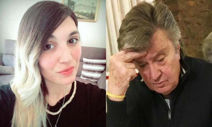 Bobby Solo e la figlia Veronica