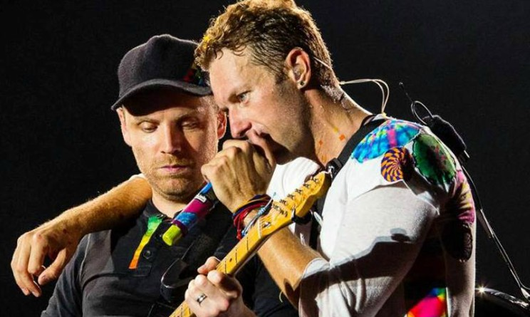 Coldplay in Italia, ospiti di Fazio