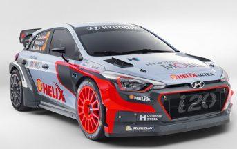 Hyundai New Generation i20 WRC 2017: presentazione al Monza Rally Show del bolide