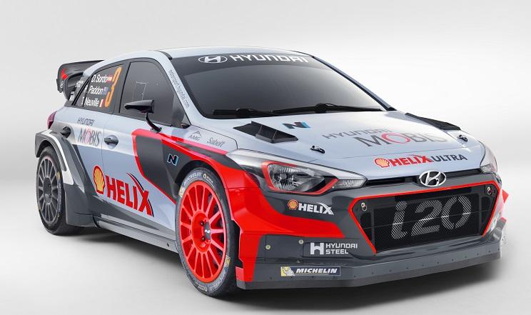 Hyundai New Generation i20 WRC