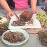 la prova del cuoco ricette dolci oggi, la prova del cuoco ricette oggi, la prova del cuoco ricette, la prova del cuoco di oggi, la prova del cuoco 21 novembre 2016, la prova del cuoco ricetta bran cake con insalata di frutta di stagione, Bran Cake con insalata di frutta di stagione natalia cattelani, bran cake con insalata di frutta di stagione natalia cattelani ricetta,