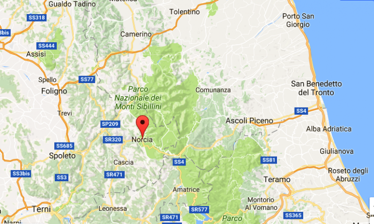 Terremoto oggi, forte scossa nelle Marche e in Umbria
