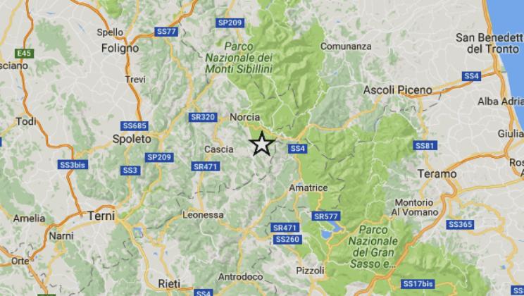 TERREMOTO OGGI MACERATA / Ultime scosse, terremoto a Ussita magnitudo 3.2
