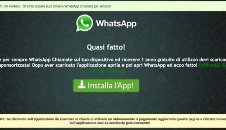 WHATSAPP MAIL TRUFFA