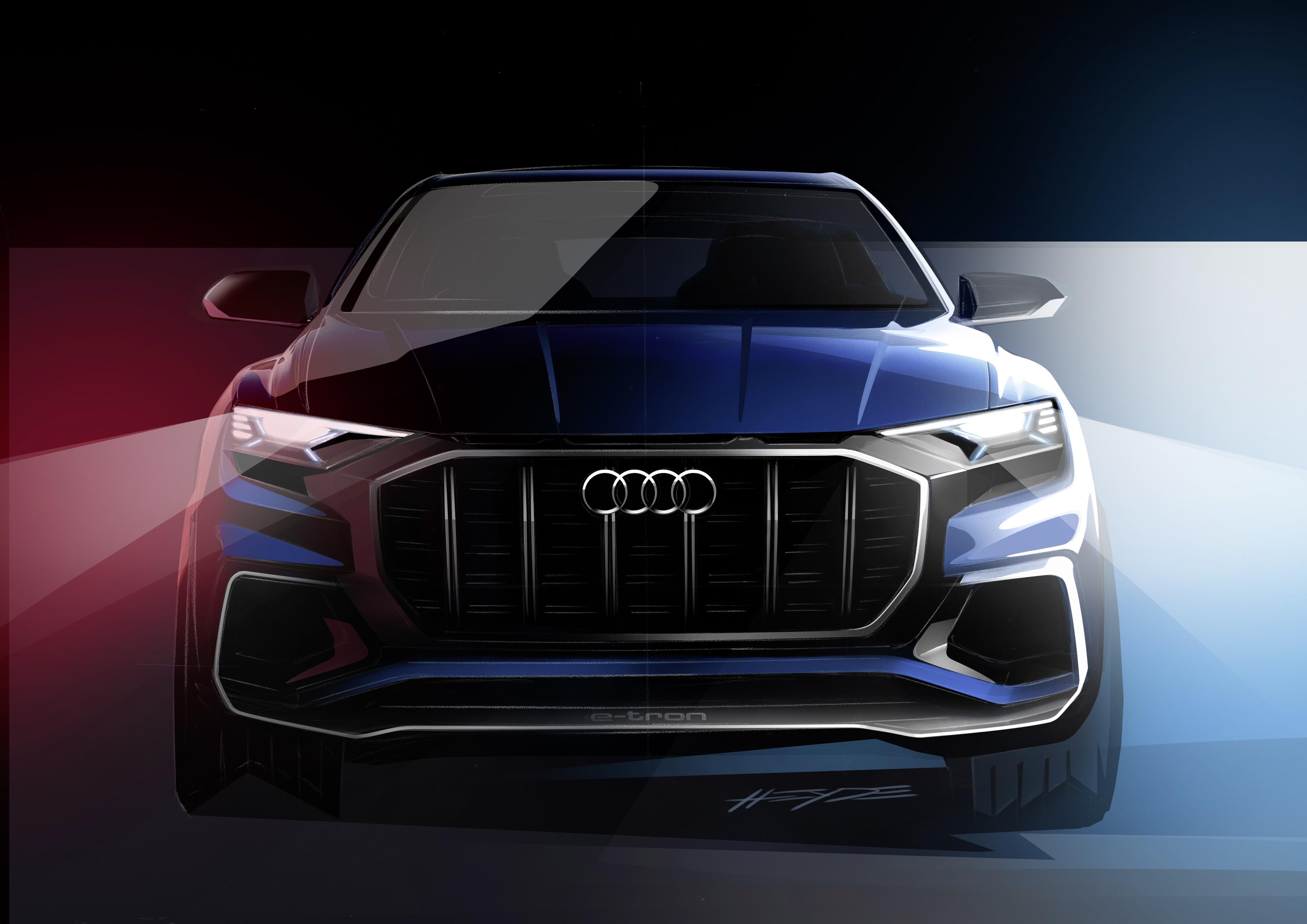 Audi Q8 Concept caratteristiche