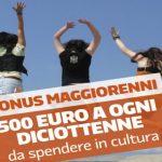 Bonus cultura 500 euro rivenduti in rete