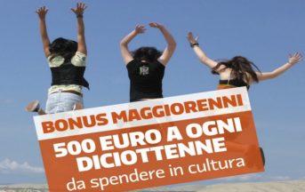Bonus cultura 500 euro 2017: rivenduti in rete a metà prezzo