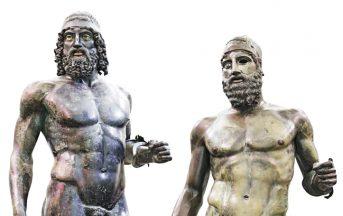 Bronzi di Riace: le celebri statue sono a rischio 'cancro'